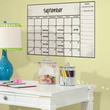 Scroll Dry Erase Calendar Peel and Stick Wall Decals Vinilo decorativo