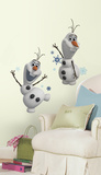 Adhesivo de pared El Reino del hielo, Olaf el muñeco de nieve  Vinilo decorativo