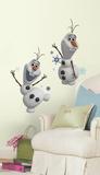 Frozen-Il regno di ghiaccio - Olaf pupazzo di neve adesivo da muro rimovibile Decalcomanie da muro