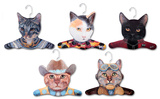Cat Hanger 5 Pack Novelty