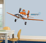 Planes - Dusty Crophopper Peel and Stick Giant Wall Decals Kalkomania ścienna