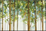 Forest Study I Crop Mounted Print by Lisa Audit
