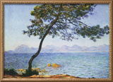 Antibes Framed Canvas Print by Claude Monet