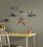 Planes - Own The Sky Peel and Stick Giant Wall Decals Wallstickers