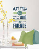 Room for Friends Quote Peel and Stick Wall Decals Wall Decal