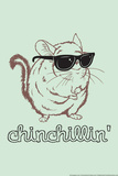 Chinchillin' Snorg Tees Plastic Sign Plastic Sign by  Snorg