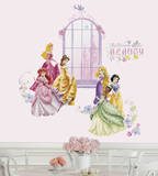 Disney Princess Collage Peel & Stick Wall Decals w/Personalization Wall Decal