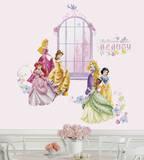 Disney Princess Collage Peel & Stick Wall Decals w/Personalization Vinilo decorativo