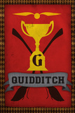 Quidditch Champions House Trophy Plastic Sign Wall Sign
