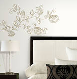 Stylized Roses Peel and Stick Wall Decals Wall Decal