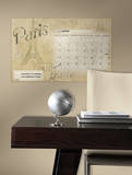 Paris Dry Erase Calendar Peel and Stick Wall Decals Vinilo decorativo