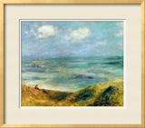 Seashore at Guernsey, 1883 Framed Giclee Print by Pierre-Auguste Renoir