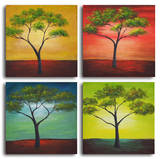 African trees in season Posters