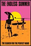 Den endeløse sommer, på engelsk Poster
