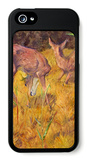 Deer in the Reed iPhone 5 Case by Franz Marc