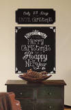 Christmas Countdown Chalkboard Peel and Stick Wall Decals Wall Decal