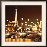 City Lights-Paris Prints by Kate Carrigan