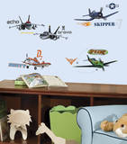 Planes Peel & Stick Wall Decals Mode (wallstickers)