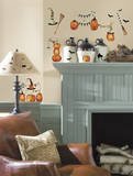 Halloween Pumpkins Peel and Stick Wall Decals Wall Decal