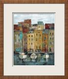 Old Town Port II Poster by Silvia Vassileva