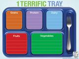 1 Terrific Tray™ Dry Erase Laminated Educational Menu Poster Prints