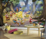 Snow White and the Seven Dwarfs Mural Wall Mural