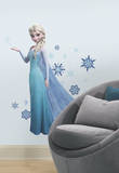 La Reine des neiges Elsa Peel et Stick Sticker mural grand format Autocollant