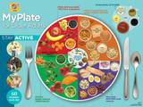 MyPlate for Older Adults Laminated Educational Poster Print