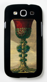 Red Goblet I Galaxy S III Case by Giovanni Giardini