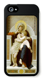 Virgin with Jesus 1875 iPhone 5 Case by William Adolphe Bouguereau