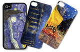 Starry Nights and Café Terrace iPhone 4/4S Case Set by Vincent van Gogh