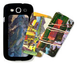 Landscapes in Abstract Galaxy S III Case Set by Richard Gerstl