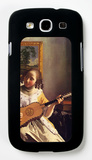 The Guitar Player Galaxy S III Case by Jan Vermeer