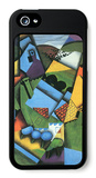 Landscape with Houses iPhone 5 Case by Juan Gris