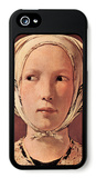 Woman's Head Frontally iPhone 5 Case by Georges de La Tour