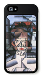 Portrait of Madame Germaine Raynal iPhone 5 Case by Juan Gris