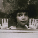 Child at Window USA Photographic Print by Green Light Collection