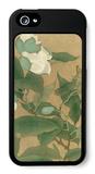 Magnolia and Praying Mantis iPhone 5 Case