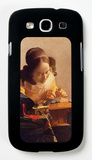 The Lacemaker Galaxy S III Case by Jan Vermeer