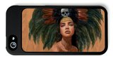 Feathers and Skulls iPhone 5 Case by Charmaine Olivia