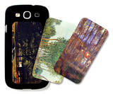 Tress in Landscape Galaxy S III Case Set by Alfred Sisley