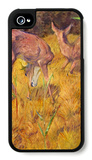 Deer in the Reed iPhone 4/4S Case by Franz Marc