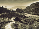 Ashness Bridge Cumbria England Photographic Print by Green Light Collection