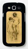 Naked Couple with Woman Sitting Galaxy S III Case by Henri de Toulouse-Lautrec