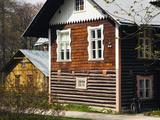 Old Farmhouse Near a Museum, Estonian Open Air Museum, Rocca Al Mare, Tallinn, Estonia Photographic Print by Green Light Collection