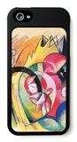 Colored Flowers iPhone 5 Case by Franz Marc