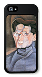 Portrait Maurice Raynal iPhone 5 Case by Juan Gris