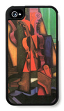 Violin and Guitar iPhone 4/4S Case by Juan Gris