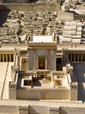 Model of Second Temple at Israel Museum, Jerusalem, Israel Photographic Print by Green Light Collection
