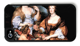 Elizabeth Thimbleby and Dorothy Viscountess Andover iPhone 4/4S Case by Sir Anthony Van Dyck
